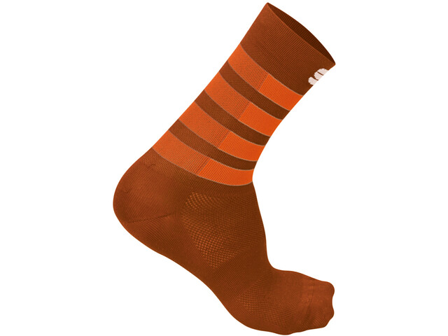 Sportful Mate Chaussettes Homme, sienna orange sdr fire red